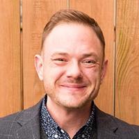 Tom Jedlowski smiling